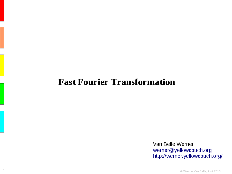 Fourier transform on finite groups
